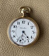 21j Pocketwatch. Hamilton. 940