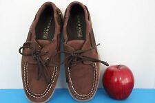 bba27ddd8aa SPERRY TOP-SIDER Lanyard Youth Boys Brown Casual SHOES~Size 4 M~Boat