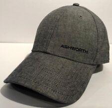 Ashworth Golf Adjustable Unisex Hat Cap Grey Dad Hat 7fc746d3ca7