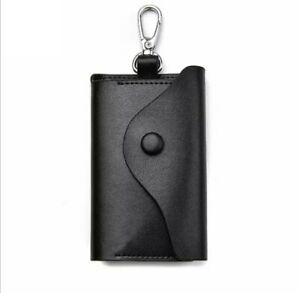 Compact Leather Keycase Wallet