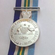 Australia Service  Medal 1945-75 Replica.  F/S Medal With 300mm Ribbon