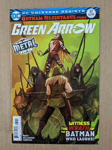 GREEN ARROW VOL. 5 #32  DARK NIGHTS METAL TIE-IN FEATURING THE BATMAN WHO LAUGHS