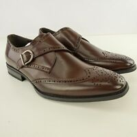 Unlisted Men's Dress Shoes Dark Brown Size 9.5 NWB