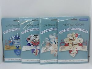Lot of 4 A Paper Miracle Second Nature Pop Up Greeting Cards ~ Graduation