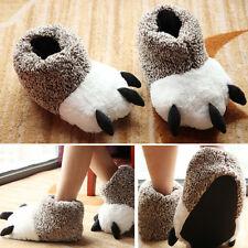 Anti-Slip Soft Slippers Women Men Winter Warm Cotton House Indoor Shoes Unisex