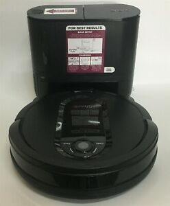 Shark UR1000SR IQ Robot Vacuum Self Empty Base, Bagless, Self Cleaning Brushroll