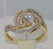 "Ring - mit ""Zirkonia"" /  Gelbgold 585er 14 Karat"
