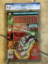 DAZZLER #7 cgc 9.8 Guest Starring THE INCREDIBLE HULK 09/1981 Soft Slabbed X-MEN