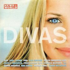 DIVAS - PROMO CD: PINK, DIDO, AVRIL LAVIGNE, TLC, SARAH MCLACHLAN, HEATHER SMALL
