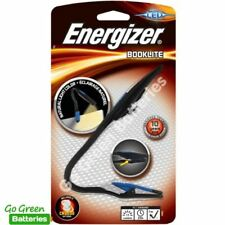 Energizer LED Clip On Reading Light Close Work Book Kindle E-Reader + Batteries