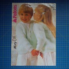 Patons Children'S Cardigan Knitting Pattern 8651