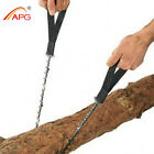 Portable Hand Chainsaw 65MN Spring Steel Gear Pocket Chain Saw Survival Saw APG