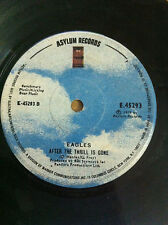 """EAGLES take it to the limit/after the thrill ULTRA RARE SINGLE 7"""" 45 INDIA VG+"""