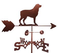 Rottweiler Weathervane With Garden Mounting