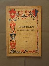 Costituzioni Ticino Svizzera Regolatti Lugano 1922 Storia Politica Diritto