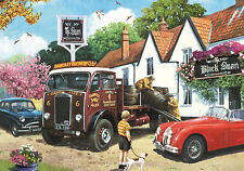 NEW! Falcon de luxe The Delivery Round by Kevin Walsh 500 piece jigsaw puzzle