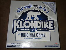 What Would You Do For A Klondike Bar? Original Game Of Minor Skill & Major Will