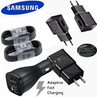 Original Samsung Galaxy S8 S8plus Note 8 Adaptive Fast OEM Type -C + Car Charger