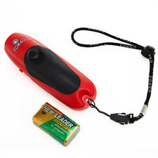 Fox 40 Electronic Whistle with Lanyard Referee-Coach Safety Alert Red 8616-1908