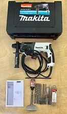 Makita HR2470WX SDS+ Hammer Drill 230V, Drills, Depth Stop, Tile Remover, Case