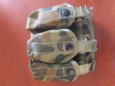 3 round 40mil granade pouches Australian Army Molle Austcam
