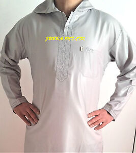 HOODED SUMMER JUBBA - MENS -KIDS   SIZE 30  TO 62   LOOSE FIT /BIG BOYS