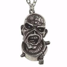 ALCHEMY ROCKS IRON MAIDEN PENDANT EDDIE PIECE OF MIND NECKLACE PEWTER OFFICIAL