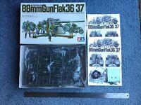 Tamiya 1:35 88mm Gun Flak 36/37 kit# 35017