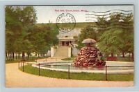 Charlevoix MI, The Inn, Michigan Vintage c1923 Postcard