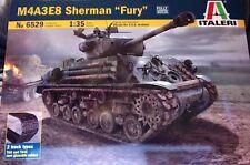 q Italeri 6529 - M4A3E8 Sherman 'FURY' Tank  (Scala 1/35)