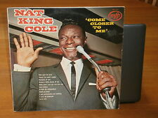 NAT KING COLE COME CLOSER TO ME MFP 5201 MUSIC FOR PLEASURE RECORDS VINYL LP