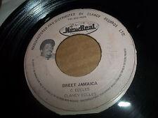 CLANCY ECCLES Reggae 45  Sweet Jamaica b/w Unite Tonight