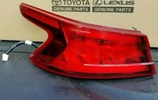2016 - 2018 Nissan Maxima Outer Tail Light, Left  26555-4RA1A OEM