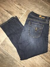 KUT FROM THE KLOTH Women's Jeans Skinny Boyfriend Bardot Size 12 Piete Denim