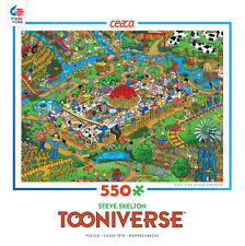 CEACO TOONIVERSE PUZZLE FARM TO TABLE STEVE SKELTON 550 PCS #2357-21