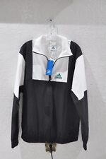 Adidas Equipment Windbreaker Jacket Spell Out ADIDAS EQT  Black/White Sz. Large
