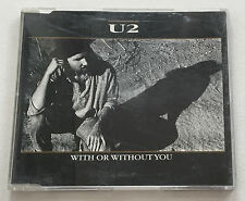U2 - With Or Without You 3trk 1987 CD 658 922 German release