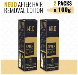 NEUD After Hair Removal Lotion for Skin Care in Men & Women 2 Packs-qNG