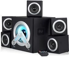 Sumvision V-Cube 5.1 Surround Sound Computer Cinema Speaker System Inc Bluetooth