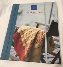 Travel Journal Notebook with Slots for postcards, photos,collectibles Great Gift