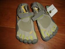 VIBRAM FIVE FINGERS KSO GRAY LIME GREEN RUNNING YOGA FITNESS WATER SHOES - W36
