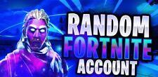 Random Fortnite%Account| 1 SKlN Guranteed (1% chance of Galaxy)