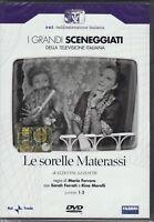 2 Dvd Sceneggiati Rai LE SORELLE MATERASSI con S.Ferrati R.Morelli completa 1972
