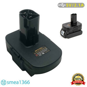 Adapter For Black&Decker Stanley Porter-Cable Battery 18/20V To Craftsman 19.2V