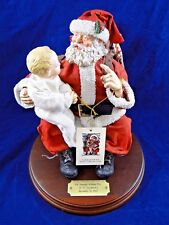 Clothtique Possible Dreams Christmas Santa Saturday Evening Post Edition In Box