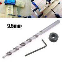 3/8inch(9.5mm) Twist Step Drill Bit Set for Kreg Pocket Hole Drill Jig Guide new
