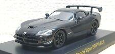 Kyosho 1/64 DODGE VIPER SRT10 ACR BLACK diecast car model