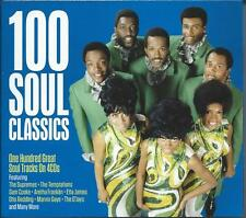 100 Soul Classics - One Hundred Great Soul Tracks (4CD 2017) NEW/SEALED
