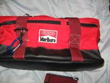 MARLBORO RED & BLACK VINTAGE BRAND NEW LUGGAGE, TOTE, TRAVEL BAG, UNLIMITED EDIT