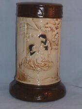 Superb Antique Oriental Style Bretby Vase, 1900s